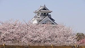 Nagahama, Shiga - Image: Houkouen Sakura