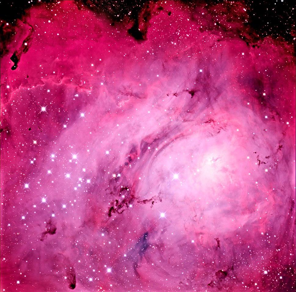 Hourglass Nebula region of Messier 8 (M8) in the 32 inch Schulman telescope on Mt. Lemmon, AZ