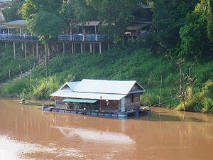 House-boats 002, Phitsanulok, Sukhothai, Thailand
