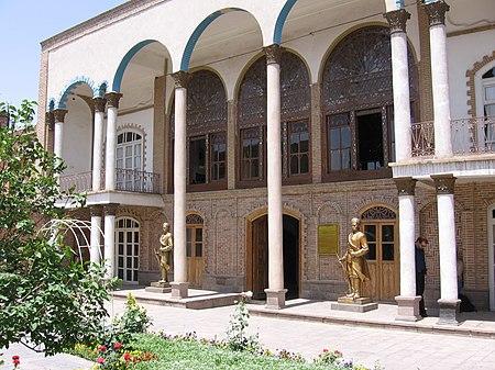 دار الدستور في تبريز.