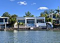 Houses in Sanctuary Cove seen from Coomera River, Queensland 12.jpg