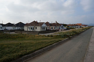 Kinmel Bay village in the United Kingdom