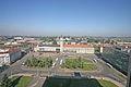 Hradec Králové - pohled na hlavní nádraží z hotelu Černigov.jpg