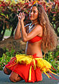 Hula dancer in action, Poipu, Kauai, Hawaii (4829706220).jpg