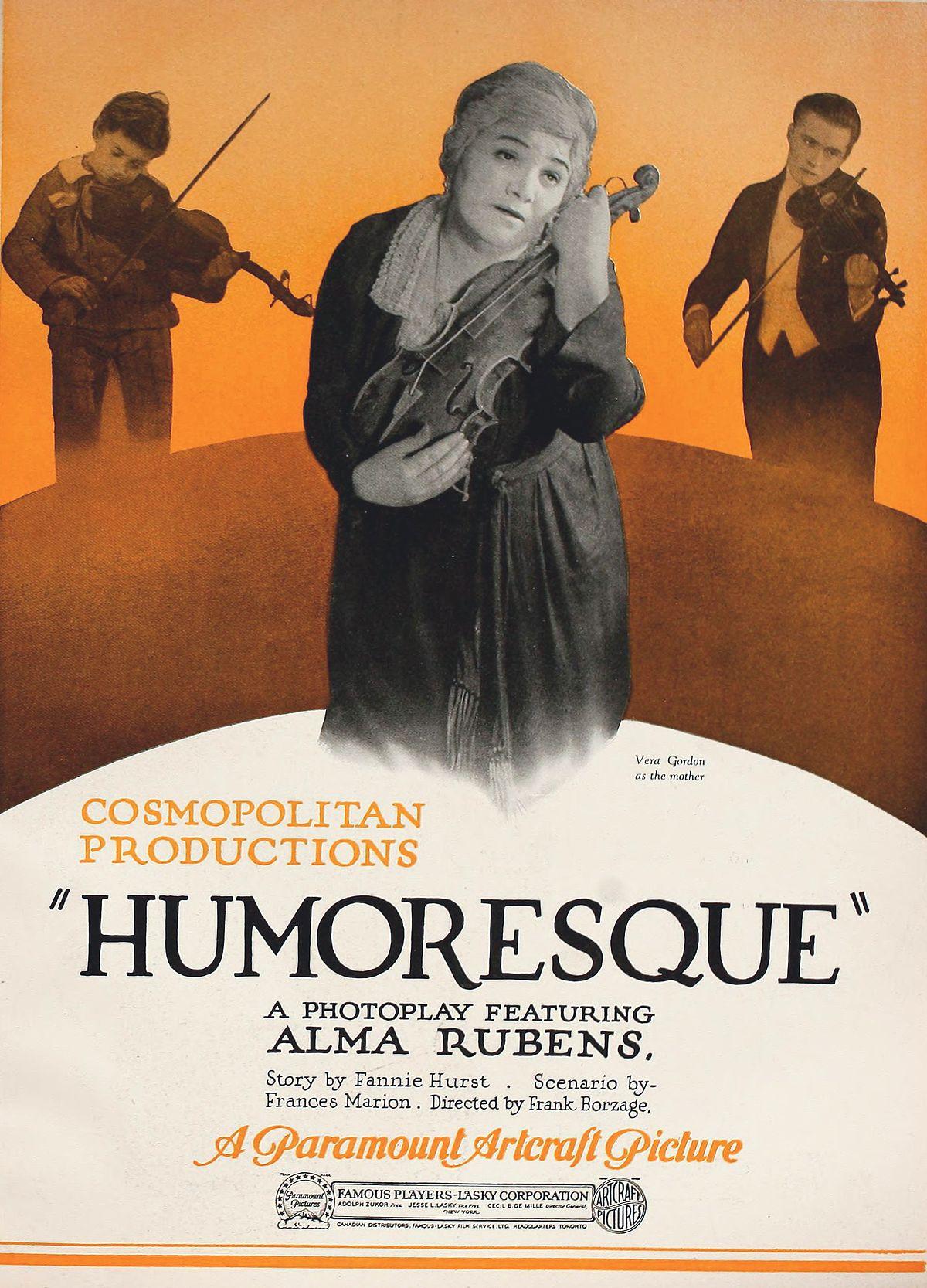 Humoresque (1920 film) - Wikipedia