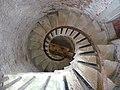 Hurst Castle , Spiral Stairs - geograph.org.uk - 1721718.jpg