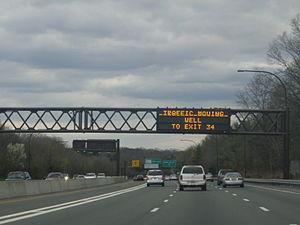Interstate 495 (New York) - I-495 in Nassau County