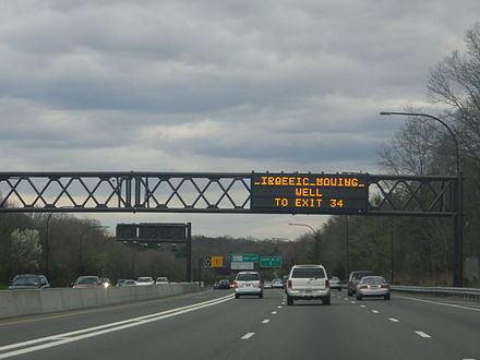 Long Island Expressway in Nassau County I-495 in Nassau County.jpg
