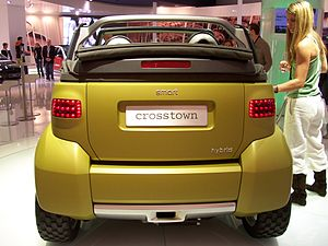 Smart Crosstown - Image: IAA2005 smart crosstown heck