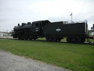 Independence, Iowa - Image: IC 30 and coal car