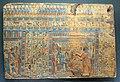 III periodo intermedio-XXI dinastia, frammenti di sarcofago con il defunto offerente ad anubi, 1069-945 ac ca.jpg