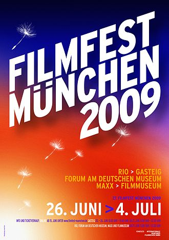 Filmfest München - Poster of the Filmfest 2009