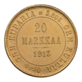 INC-с122-r Двадцать марок 1913 г. (реверс).png