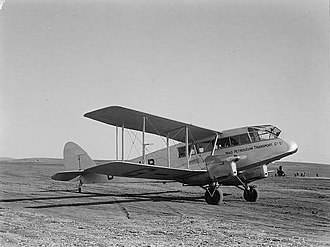 Iraq Petroleum Company - A De Havilland Dragon of the Iraq Petroleum Transport Company in the 1930s