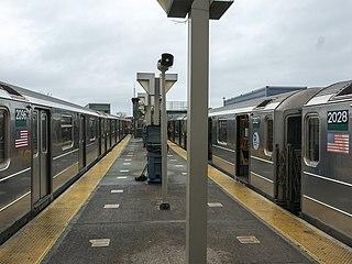 Pelham Bay Park station New York City Subway station in the Bronx
