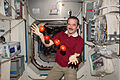 ISS-34 Chris Hadfield juggles some tomatoes.jpg