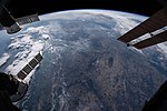 ISS-56 European continent with Earth's limb in the background.jpg