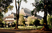 Institut Teknologi Bandung. Ceremonial Hall by architect Henri Maclaine-Pont