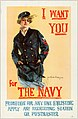 I want you for the navy. Promotion for any one enlisting, apply any recruiting station or postmaster (12308328614).jpg