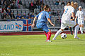 Iceland - Serbia-2011 FIFA Women's World Cup qualification UEFA Group 1 (3837262269).jpg