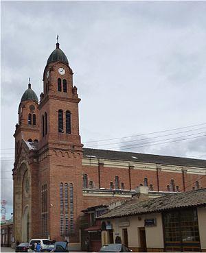 Mosquera, Cundinamarca - Image: Iglesia mosquera 14 04 12