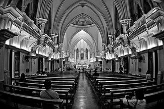 João Resende Costa - Interior of the Belo Horizonte Cathedral