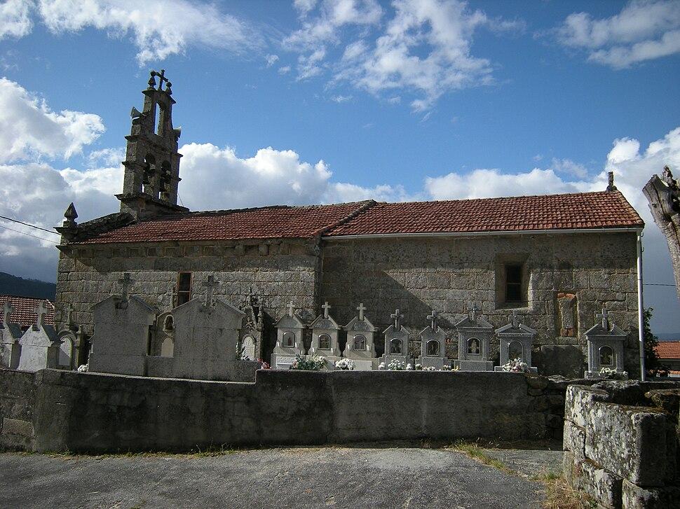 Igrexa de San Lourenzo de Abeleda, Porqueira