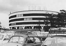 Il primo negozio IKEA a Stoccolma nel 1965