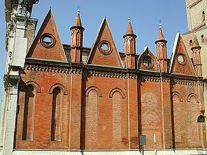 Mantua Cathedral - South side