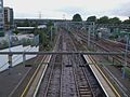 Ilford station fast tracks high westbound.JPG