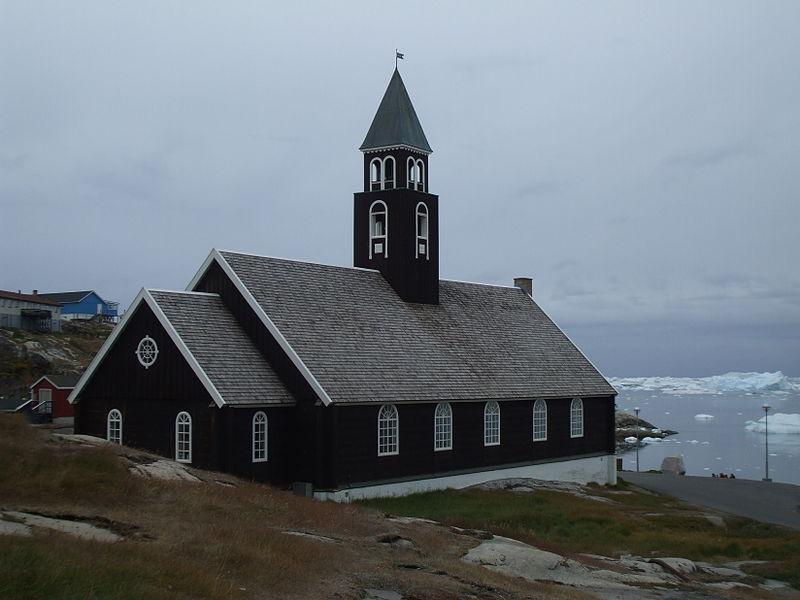 Ilulissat 4 Eglise Groenland 2009 Expédition ACarré.JPG