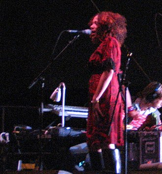 Imani Coppola - Coppola sings at a show on tour with Mike Patton's Peeping Tom at the Detour Festival in October 2006.
