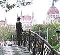 Imre Nagy, Budapest, facing Parliament.jpg