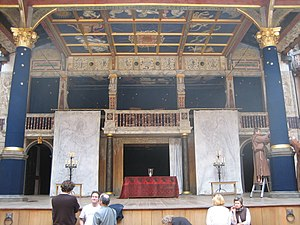 In Extremis (play) - The set for the second run