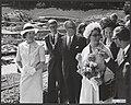 In aanwezigheid van prinses Beatrix heeft prinses Christina van Zweden een tento, Bestanddeelnr 112-1010.jpg