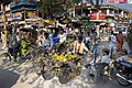 India - Varanasi grapes policemen - 0721.jpg