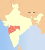 India Maharashtra locator map.svg