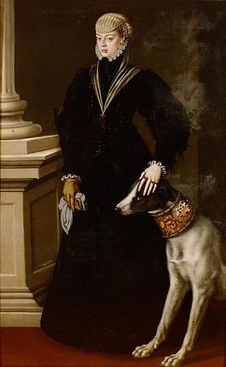 Alonso Sánchez Coello - Image: Infanta Juana of Spain 1