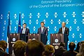 Informal meeting of economic and financial affairs ministers (ECOFIN). Press conference (36860690370).jpg
