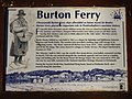 Information panel at Burton Ferry - geograph.org.uk - 904464.jpg