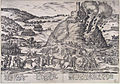 Inname van Godesberg - Capture and destruction of Godesburg in 1583 (Frans Hogenberg) Edit2.jpg
