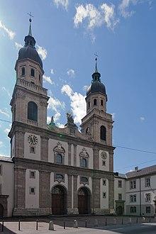 Jesuitenkirche Innsbruck Wikipedia