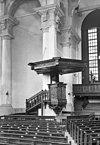 interieur, preekstoel en orgel - groningen - 20093162 - rce