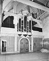 interieur- westzijde met orgel - brielle - 20042732 - rce