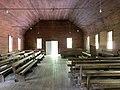 Interior, Smokemont (Oconaluftee) Baptist Church, Great Smoky Mountains National Park, Smokemont, NC (49112955017).jpg