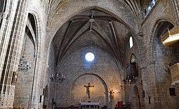 Interior de l'església de sant Bertomeu - Xàbia.JPG