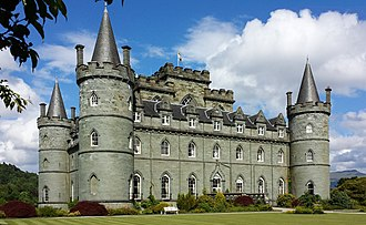 Inveraray Castle - Inveraray Castle in 2014