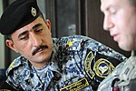 Iraqi National Police Officer meeting in Baghdad, Iraq DVIDS164283.jpg