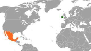 Ireland–Mexico relations Diplomatic relations between Ireland and the United Mexican States