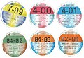 Irish motor tax discs 1999-2004.jpg